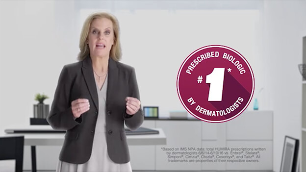 Play HUMIRA clinical experience video